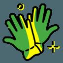 Work Gloves Icon